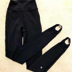 Unique Lululemon stirrup leggings